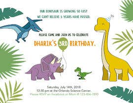 #10 for Kid's birthday party invitation by FOFADesign