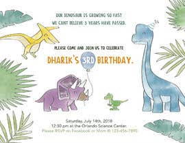 #11 for Kid's birthday party invitation by FOFADesign