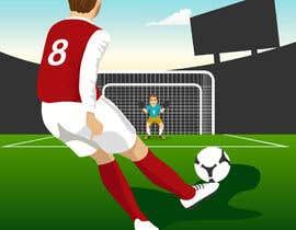 #10 for Soccer players ilustrations af Akheruzzaman2222