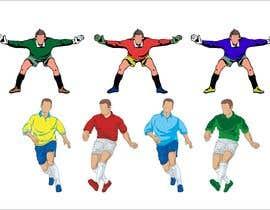 #2 for Soccer players ilustrations af pigulchik