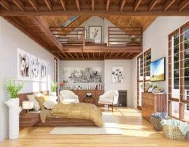 #16 cho Interior room design - 3D bởi M13DESIGN