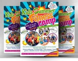 #12 untuk kids summer fitness camp poster oleh satishandsurabhi