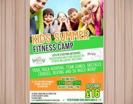 #6 untuk kids summer fitness camp poster oleh isamendoza