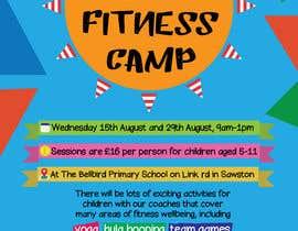 #4 untuk kids summer fitness camp poster oleh CosminaCosma