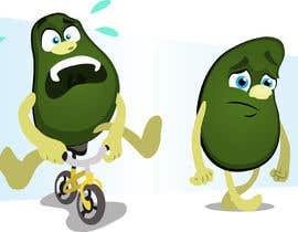 """#74 for Design """"Mr Avocado"""" for Children's Book af Thabsheeribz"""