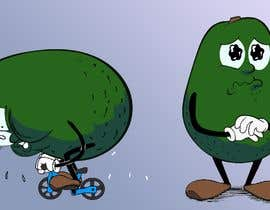 """#126 for Design """"Mr Avocado"""" for Children's Book af LeeJayAnimation"""