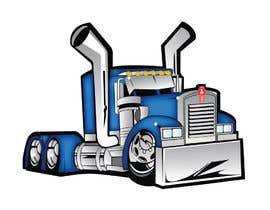 nº 25 pour vector and clean up truck par darbarg