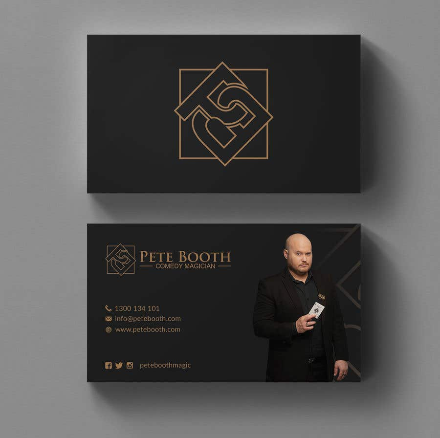 Entry #53 by Neamotullah for Design Corporate Magician Business Card ...