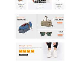 #7 for Design a Website Mockup in PSD by tamim85