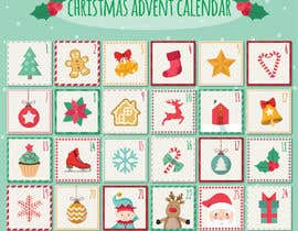 sudhy8 tarafından Create a new range of xmas advent calendar için no 24
