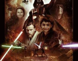 #85 cho Add my nephew to a Star Wars poster or scene bởi MarekDAZPostulka