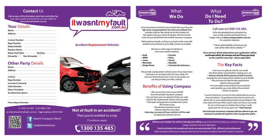 Penyertaan Peraduan #                                        12                                      untuk                                         Flyer Design for itwasnymyfault.com.au