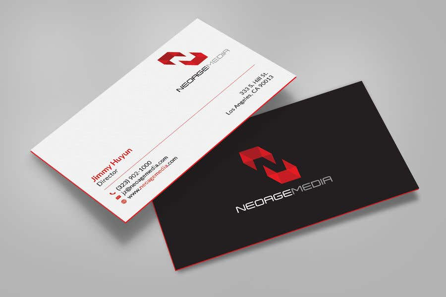 Contest Entry #15 for Hi-tech Business Card design.