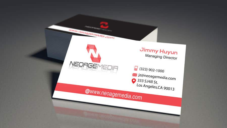 Contest Entry #85 for Hi-tech Business Card design.