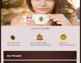 #12 for Design a Website Mockup for Coffe Company Profiles af novalrizky