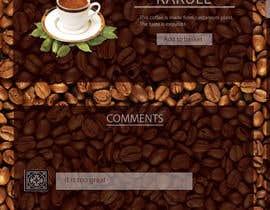 #5 for Design a Website Mockup for Coffe Company Profiles af bisoska