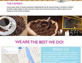 #19 for Design a Website Mockup for Coffe Company Profiles af fawaz26
