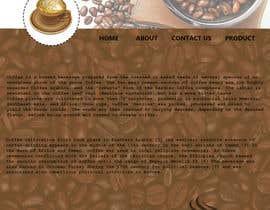 #21 for Design a Website Mockup for Coffe Company Profiles af nurshafiyaa