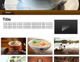 #2 for Design a Website Mockup for Coffe Company Profiles af CyberDarkPlus