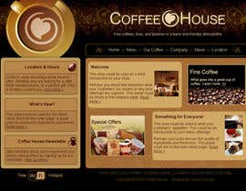 #6 for Design a Website Mockup for Coffe Company Profiles af mvghanesh