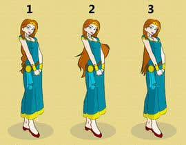 #21 for Design a princess character - Ensure your submission doesnt infringe any copyrights by amitdharankar