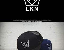 """#58 untuk Need a logo made for my brand. Just the letters """"LKN"""" and a crown on top oleh enovdesign"""