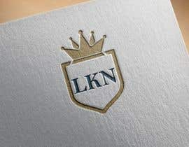 """#9 untuk Need a logo made for my brand. Just the letters """"LKN"""" and a crown on top oleh FALL3N0005000"""