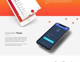 #27 for Landing Page/Website for a New App by webmastersud