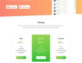#13 for Landing Page/Website for a New App by miton247