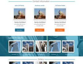 designcreativ tarafından Design a Website Mockup for Architect için no 38
