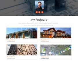 ZWebcreater tarafından Design a Website Mockup for Architect için no 36