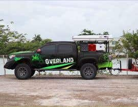 #4 for Car Vinyls Graphic Design for Expedition truck Adventure Trip by aariankashif