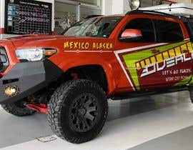 #7 for Car Vinyls Graphic Design for Expedition truck Adventure Trip by jbktouch