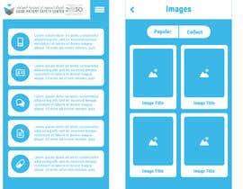 nº 24 pour iPhone App Design Mockup par fudeart28