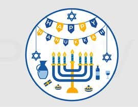#7 for Design a Hanukkah Pin by ConceptGRAPHIC