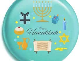 #8 для Design a Hanukkah Pin от SundarVigneshJR