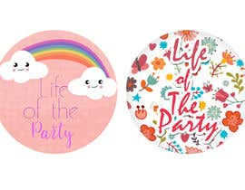 #3 for Fun Cute Childrens Party Pin/Button Design by sonalfriends86