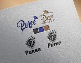 nº 1 pour high end food catering company, called ( Puree ) . -something simple elegant and modern .  - one color only to use ( black, or dark blue, or maroon ).    -your creative ideas are needed i want to see diferent options. par Areynososoler