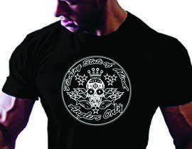 #22 para Design a skull/calavera fishing t-shirt por elliondesignidea