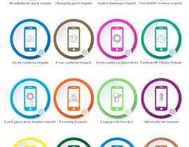 adrinfattahi tarafından Design some Icons for mobile repair website için no 27
