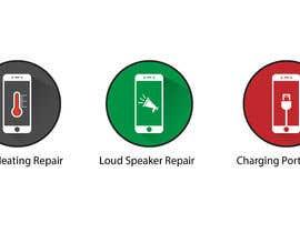 GoldenAnimations tarafından Design some Icons for mobile repair website için no 19
