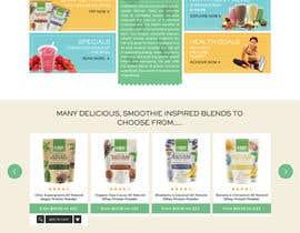 nº 26 pour Homemade FoodS Website par devanshai
