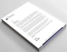 Nro 25 kilpailuun Design a professional letterhead käyttäjältä mkmonir614