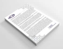 #110 for Letterhead for scientific company by eddesignswork