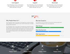 nº 11 pour Convert a Template to a Website par akterfr