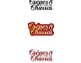 #13 for Logo needs to be clear and simpel and easy to read with something iconic. We make crepes and churros that is also our name crêpes and churros.  The logo has to fit allong with the other franchise logos deplayed in the attachments. by Ashik0682