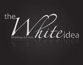 #575 dla Logo Design for The White Idea - Wedding and Events przez Pushstyle
