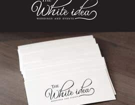 #586 για Logo Design for The White Idea - Wedding and Events από Deedesigns