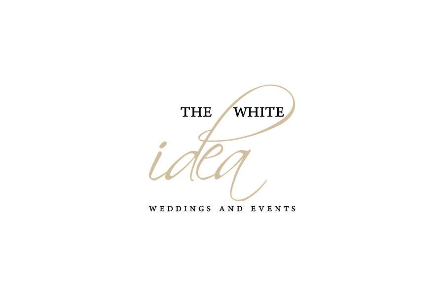 #494 for Logo Design for The White Idea - Wedding and Events by tdrf