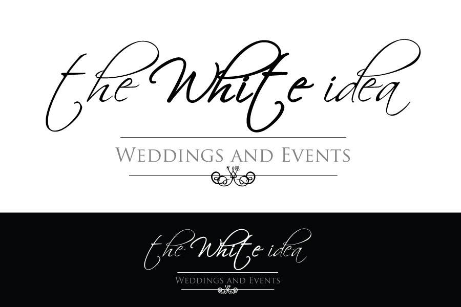 #435 for Logo Design for The White Idea - Wedding and Events by syazwind